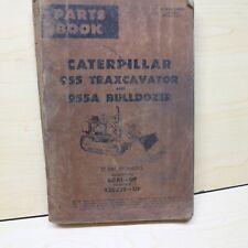Cat Caterpillar 955 Track Loader Crawler Parts Manual Book 60a Series Front End
