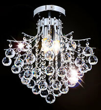 Kristall Kronleuchter Deckenleuchte Lüster Decken Beleuchtung Deckenlampe Ø40cm