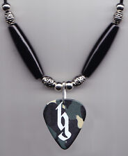 Brantley Gilbert Signature Camouflage Guitar Pick Necklace - 2014 Tour