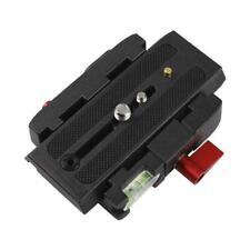 Aluminum Alloy Quick Release Plate Assembly P200 Clamp Adapter for Manfrotto