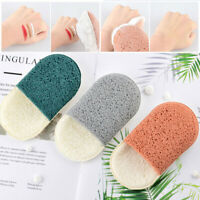 Makeup Remover Glove Portable Facial Cleaning Sponge Cleansing Glove Conveni uW