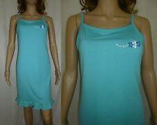 Ladies Sleeveless Jersey Sundress Size 10 Turquoise Beach Summer Womens PAPAYA
