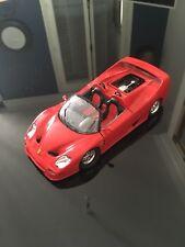 Burago 1/24, Ferrari F50, 1995, Voiture Miniature, bel état