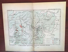 1896 USGS Color Sketch Map of The Tennessee River Phosphate Region
