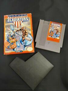 American Gladiators Nintendo NES System Video Game Gametek Box