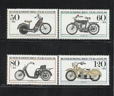 ALEMANIA, (Berlín). Año: 1983. Tema: PRO JUVENTUD. MOTOCICLETAS HISTORICAS.
