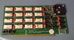 Processor Technology ALS-8 Program Development System S100 Bus