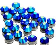 STRASS MC stone collection 1000pz SS10 3mm Sapphire blu ab Aurora Boreale hotfix