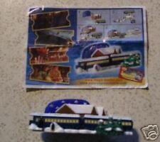 """The Polarexpress"" 2004 3D-Puzzle Waggons mit BPZ Englisch"