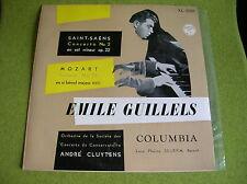 LP EMILE GUILLELS-SAINT SAENS CONCERT N 2-MOZART-CLUYTENS JAPAN PRESS XL-5087-