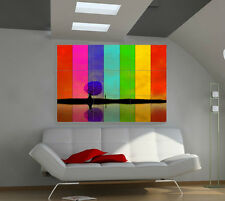 "Multicolor Huge Art Giant Poster Wall Print 39""x57"" a103"