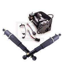 For Escalade Suburban Tahoe Yukon -- Pair Air Suspension shocks+Compressor Pump