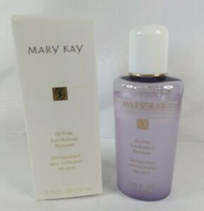 Mary Kay Oil-Free Eye Makeup Remover 3.75 fl.oz Pink Cap NOS See Details