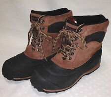 Men's Ranger Waterproof Suede Leather Boots Sz 8