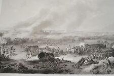 NAPOLEON BATAILLE DE LUTZEN  GRAVURE 1838 VERSAILLES R1247 IN FOLIO