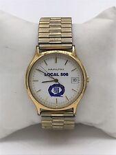 Men's Vintage Hamilton Date 9812 Quartz Gold Filled Watch