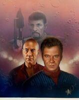 Keith Birdsong Star Trek Spectre BOOK cover art Shatner Kirk Spock Picard TOS