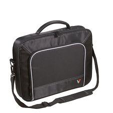 """V7 13"""" Professional Frontloader Laptop Case bag Model #CCP4 /POLYESTER Black Bag"""