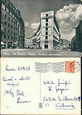 Cartolina Lazio Roma Via Bissolati Palazzo Fondiaria Assicurazione