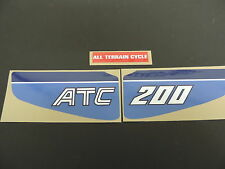 1983 Honda ATC 200 Three Wheeler Fender Decal Set