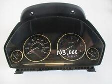 BMW F30 3 SERIES 2012 320 DIESEL AUTOMATIC CLOCKSET SPEEDO MILEAGE 103K GENUINE