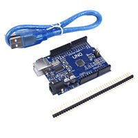 New ATmega328P CH340G UNO R3 Board with USB Cable for Arduino