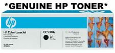 HP GENUINE/ORIGINAL 304A CC530A BLACK PRINTER TONER CARTRIDGE cp2025/cm2320 NEW