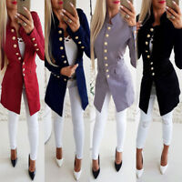 2019 Women Elegant Fashion Slim Casual Business Blazer Suit Jacket Coat Outwear
