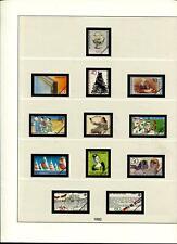 Bund 1982 - 1992 Lindner-T Vordruckalbum