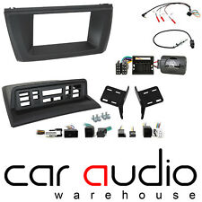 BMW X3 2003 - 2010 E83 Double Din Car Stereo Fascia & Steering Wheel Kit CTKBM29