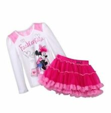 Minnie Mouse Skirt Set NWT Disney Mickey Mouse & Friends - Size 4 Girls