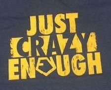 Official TNA Eric Young Just Crazy Enough XL T-Shirt, NXT, NWA TNA, Impact, UWF