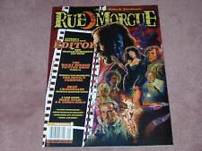 RUE MORGUE magazine #159 The Editor, Rocky Horror Picture Show, Devil's Carnival