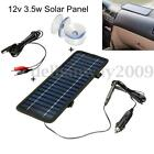 12V 3.5W Portable Mono Solar Panel Battery Power Charger For Car Boat RV Caravan