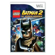 LEGO Batman 2: DC Super Heroes (Nintendo Wii, Adventure) Wii 2-Player Games
