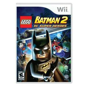 LEGO Batman 2: DC Super Heroes  (Nintendo Wii, 2012) New Factory Sealed Package