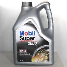 MOBIL SUPER 2000 X1 10W40 DA 5 LITRI OLIO MOTORE SEMISINTETICO AUTO A3 B3 SL