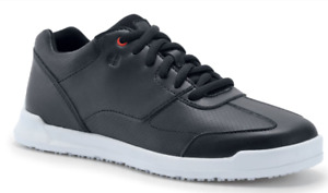 Shoes for Crews Freestyle II 35353 Arbeitsschuhe Service schwarz weiße Sohle