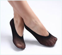 10 Pairs No Show Invisible Liner Socks Women Ballet Boat Low Cut Nylon US 5-8