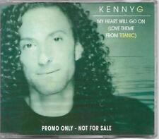 Kenny G Love Theme From Titanic Australian promo CD single (1998)