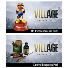 DLC RESIDENT EVIL VILLAGE SURVIVAL RESOURCES PACK + MR. RACCOON PS4 PS5 NO GAME
