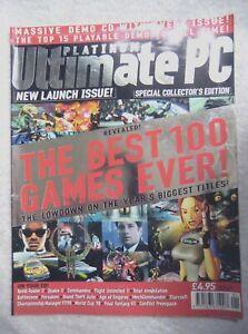 75814 Issue 01 Platinum Ultimate PC Launch Issue Magazine 1998