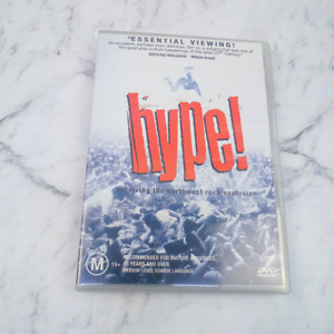 Hype! Surviving The Northwest Rock Explosion Documentary   PAL 4   DVD
