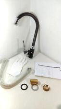 Sprinkle Contemporary Kitchen Single Handle LED Spray Faucet Black [EBK8-FAU2]