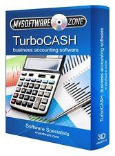 TurboCASH QuickBooks Sage Value Alternative Accounting Software Program CD NEW