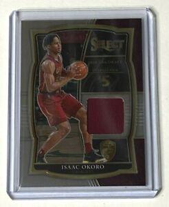 2020-21 Panini Select Basketball ISAAC OKORO RC jersey relic