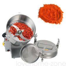More details for 1.5kw electric grain mill machine cereal spice grinder herb bean 304 stainless