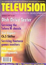 Television (servicing, video, satellite, developments) Magazine August 1997