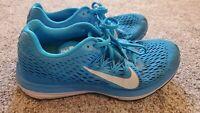 Nike Zoom Winflo 5 Running Shoes Women's Size 9.5 Blue