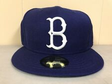 Brand New New Era Size 7 3/8 Brooklyn Dodgers hat Fitted Hat